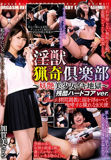 BabyEntertainment DBER-081 The Lusty Beast Hunting Club - An Alluring Beautiful Girl Cums In Hell Cruel Hardcore Ver Part 5 A Pure And Clean Angel Roars With Teary-Eyed Orgasmic Pleasure During A Shameful Breaking In Training Session Sara Kagami