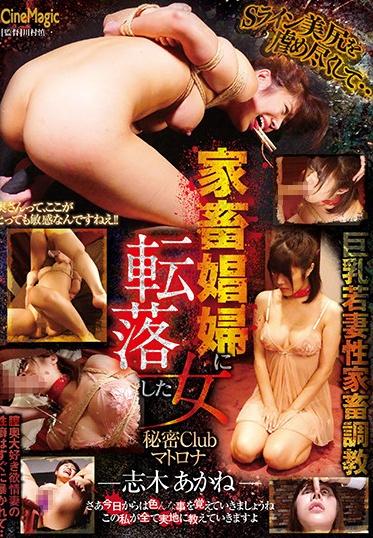Cinemagic CMC-250 A Woman Who Fell Into A Livestock Club Secret Club Matrona - Akane Shiki