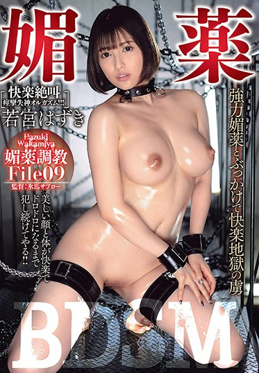 AVS collectors USBA-025 Aphrodisiac BDSM Trapped In The Pleasure Of Hellish Powerful Aphrodisiacs And Bukkake Hazuki Wakamiya