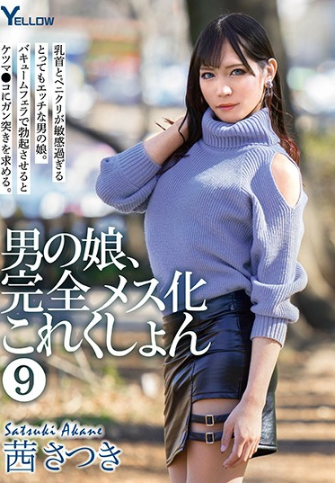 YELLOW / Mousouzoku HERY-111 Transsexual Complete Feminization Collection 9 Satsuki Akane