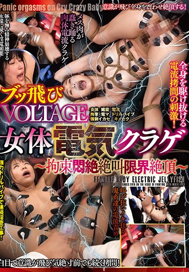 BabyEntertainment DONN-008 Flying Voltage Female Electrified Jellyfish Discovering The Limits Of Tied Up Writhing Screaming And Climaxing