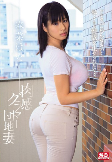 S1 NO.1 STYLE SNIS-042 Rubbing Giant Balloon Titties Apartment Wife Hana Haruna