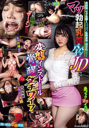 Avs GMEM-040 Masochist Erection Nipple Shaved JD Hentai Installation Awakening Sex Doll Marina Miura