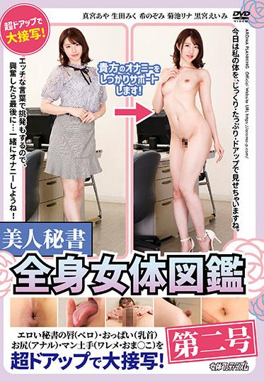 Aroma Kikaku ARMF-019 Beautiful Secretary Whole Body Female Body Picture Book No 2